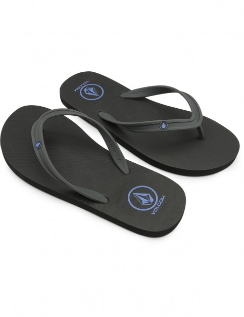 Volcom Rocker 2 Flip Flops in Blue Combo