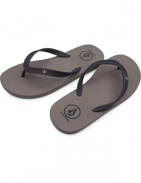 Volcom Rocker 2 Flip Flops in Tan