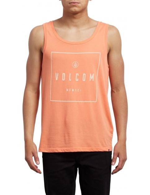 Volcom Scribe Sleeveless T-Shirt in Salmon