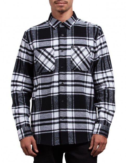 Volcom Shader Long Sleeve Shirt in White