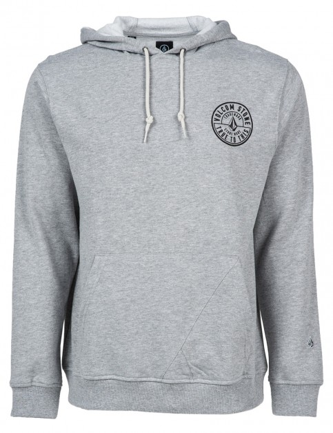 Heather Grey Volcom Shadow Pullover Hoody