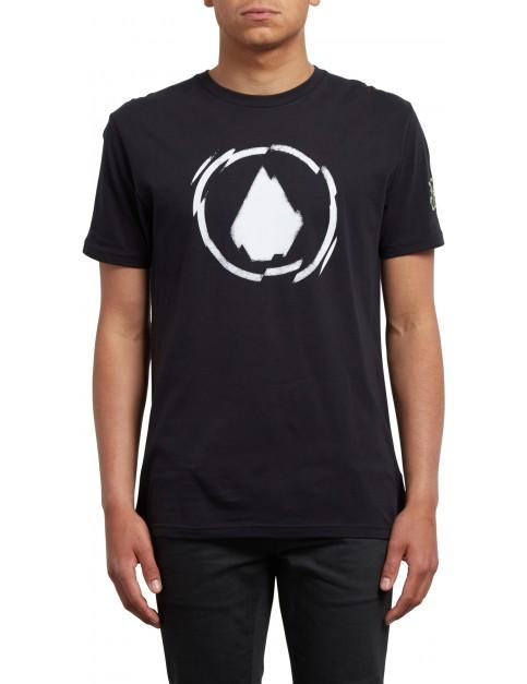 Volcom Shatter Short Sleeve T-Shirt in Black