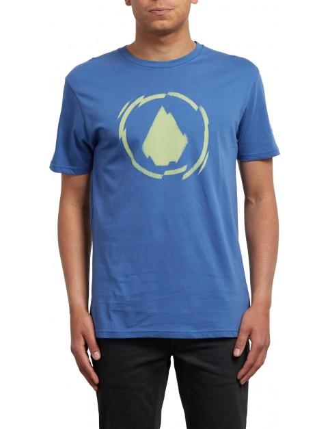 Volcom Shatter Short Sleeve T-Shirt in Blue Drift