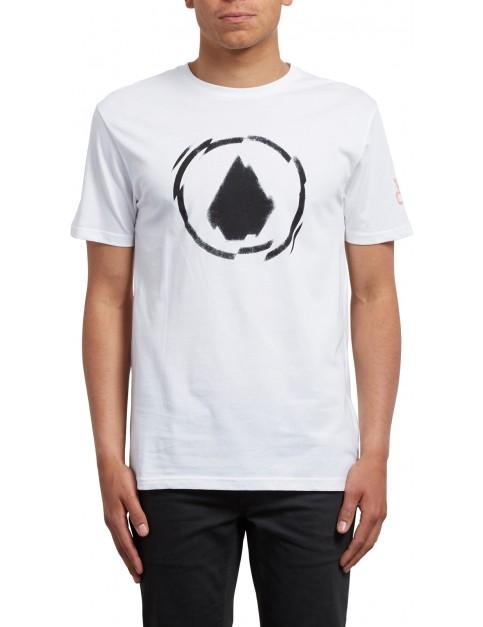 Volcom Shatter Short Sleeve T-Shirt in White