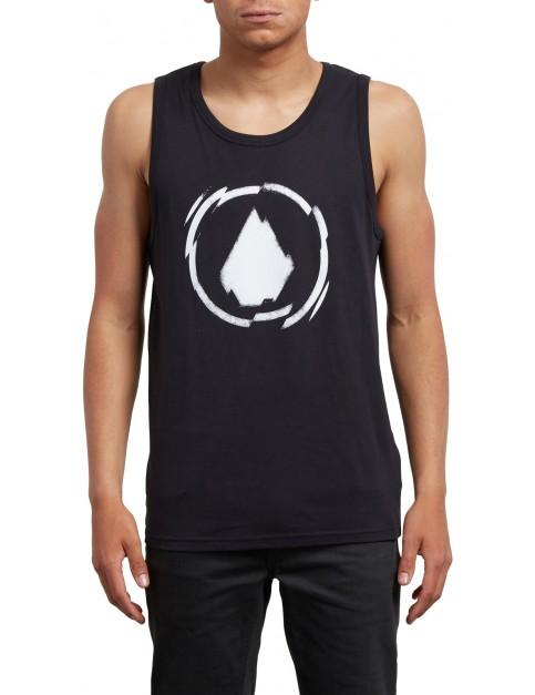Volcom Shatter Sleeveless T-Shirt in Black