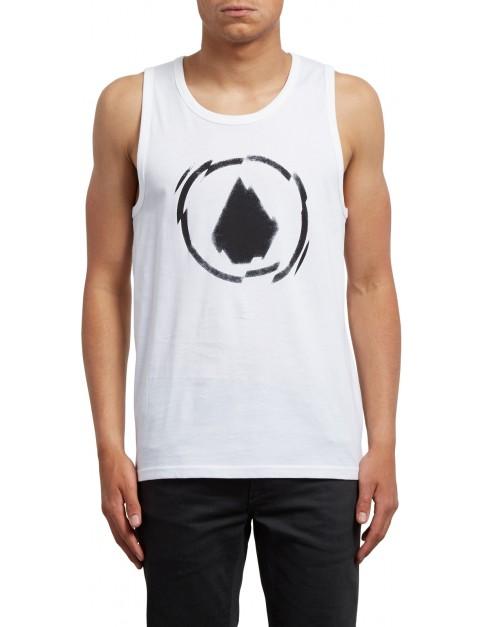 Volcom Shatter Sleeveless T-Shirt in White