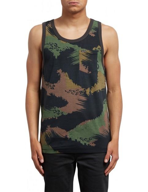 Volcom Sherwood Tank Sleeveless T-Shirt in Camouflage