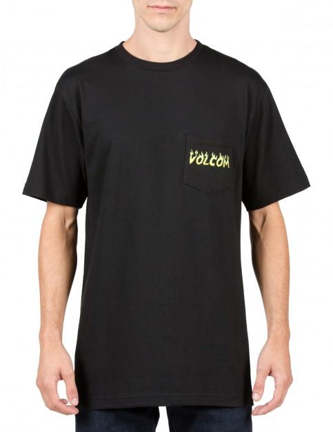 Volcom Shred Head Short Sleeve T-Shirt in Black