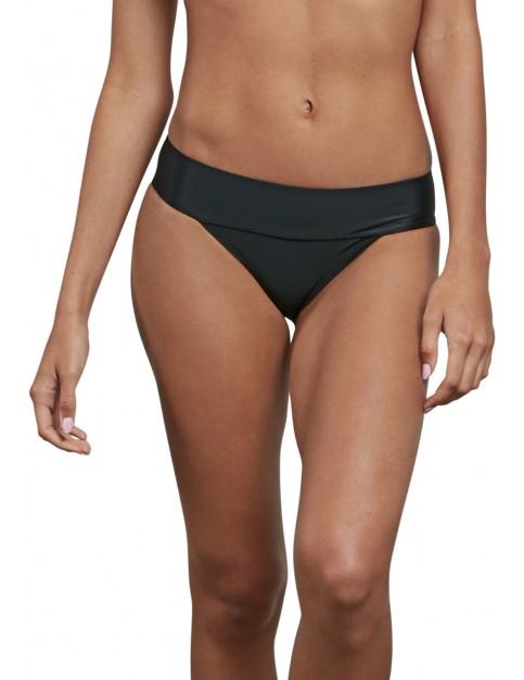 Volcom Simply Solid Modest Bikini in Black