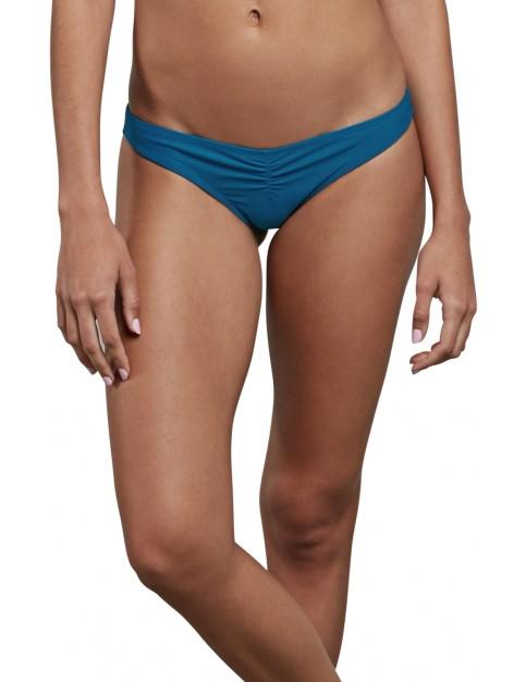 Volcom Simply Solid V Pant Bikini in Ocean