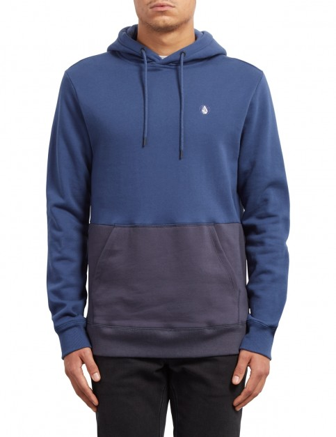 Volcom Single Stone DIV Pullover Hoody in Midnight Blue