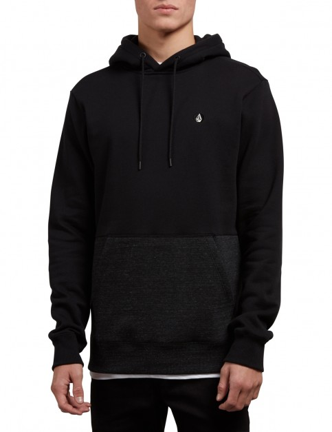 Volcom Single Stone Div Pullover Hoody in Sulfur Black