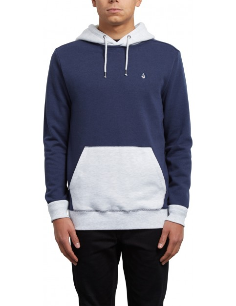 Volcom Single Stone Division Pullover Hoody in Deep Blue