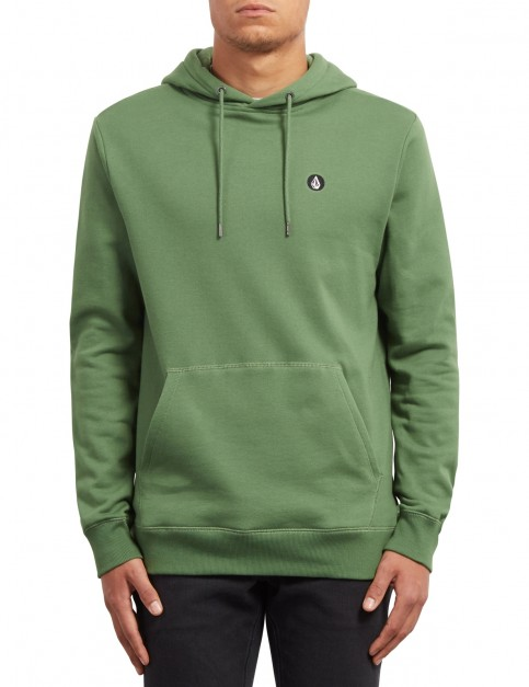 Volcom Single Stone Pullover Hoody in Dark Kelly