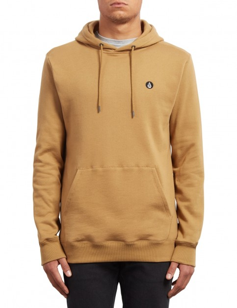 Volcom Single Stone Pullover Hoody in Old Gold
