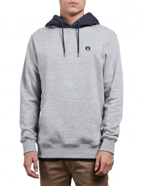 Volcom Single Stone Pullover Hoody in Storm