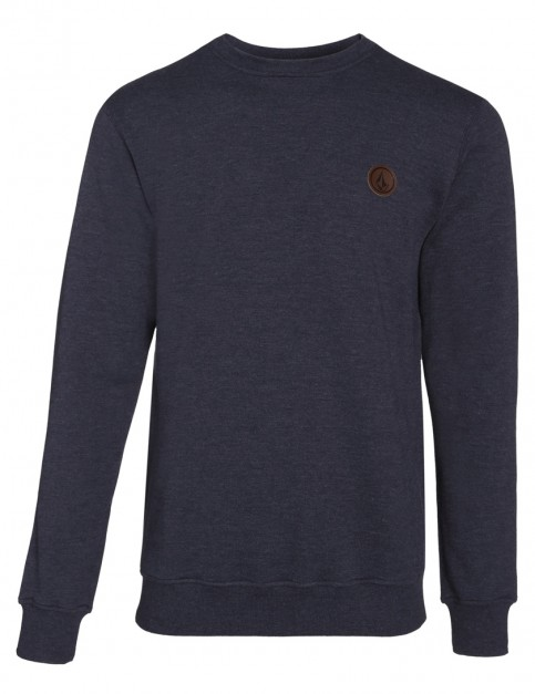 Navy Volcom Single Stone Sweatshirt