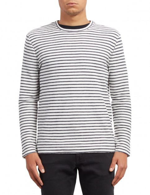 Volcom Slubstance Sweater Jumper in White