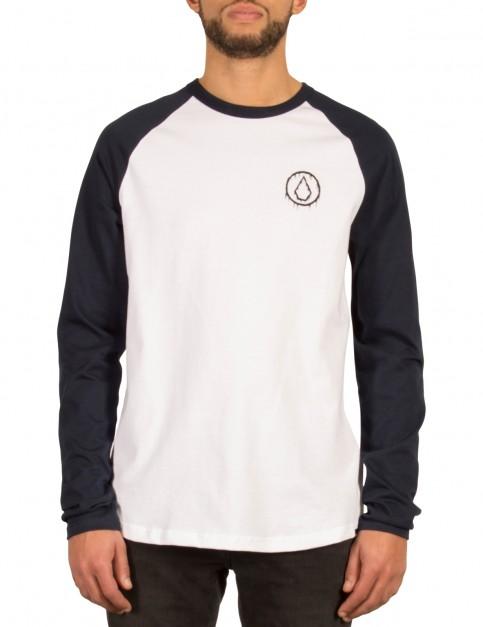 Volcom Sludge Long Sleeve T-Shirt in Navy