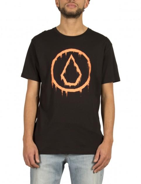 Volcom Sludgestone Short Sleeve T-Shirt in Black