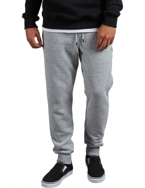 Volcom Sngl Stone Flc Track Trousers in Storm