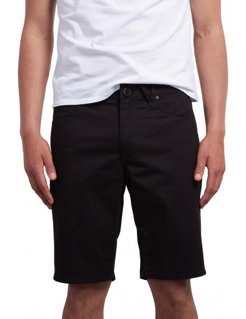 Volcom Solver Lite Twill Shorts in Black