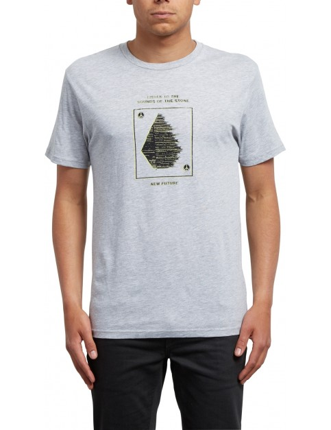 Volcom Sound Short Sleeve T-Shirt in Heather Grey