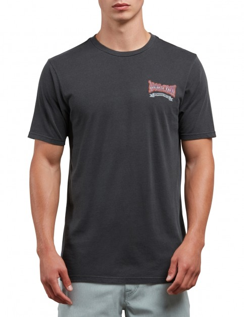 Volcom Speed Way Short Sleeve T-Shirt in Black