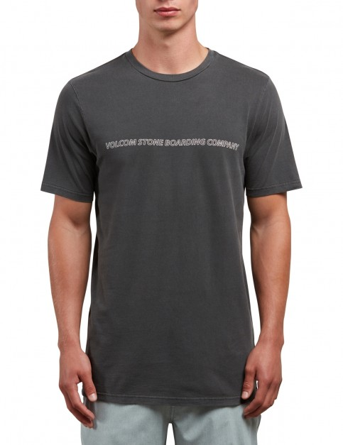 Volcom Spyral Short Sleeve T-Shirt in Black