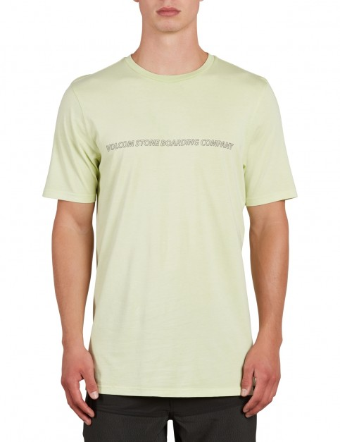 Volcom Spyral Short Sleeve T-Shirt in Mist Green