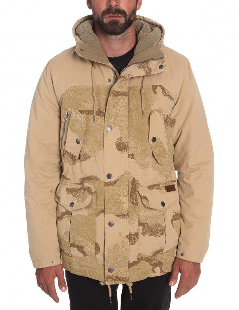 Volcom Starget Update Parka Jacket in Camo