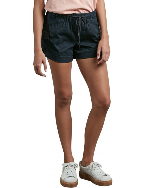 Volcom Stash Shorts in Black