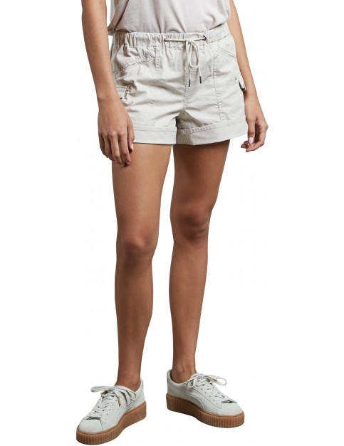 Volcom Stash Shorts in Light Grey