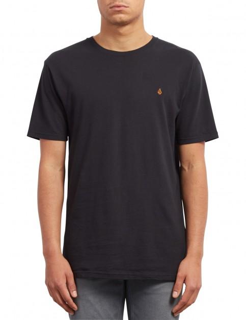Volcom Stone Blank Short Sleeve T-Shirt in Black