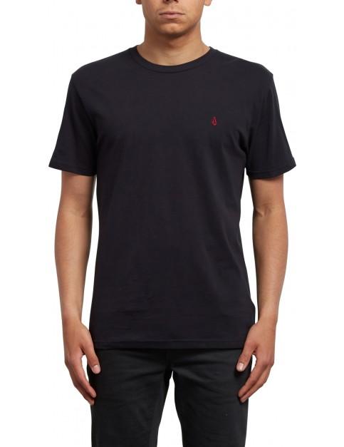 Volcom Stone Blanks Short Sleeve T-Shirt in Black