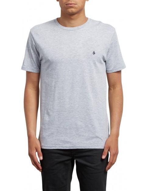 Volcom Stone Blanks Short Sleeve T-Shirt in Heather Grey