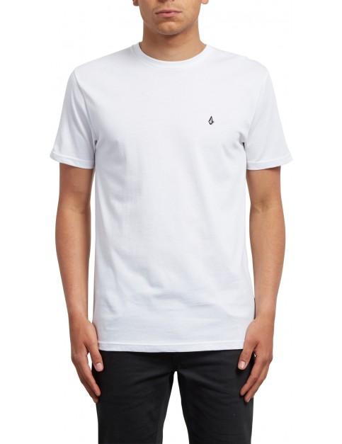 Volcom Stone Blanks Short Sleeve T-Shirt in White