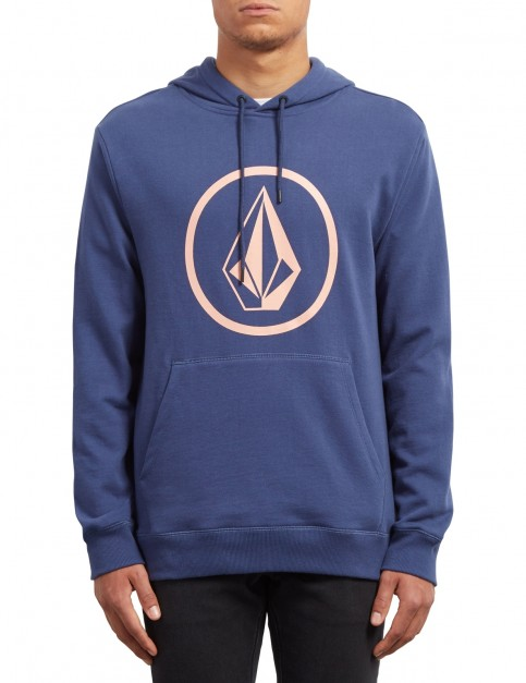 Volcom Stone Pullover Hoody in Matured Blue