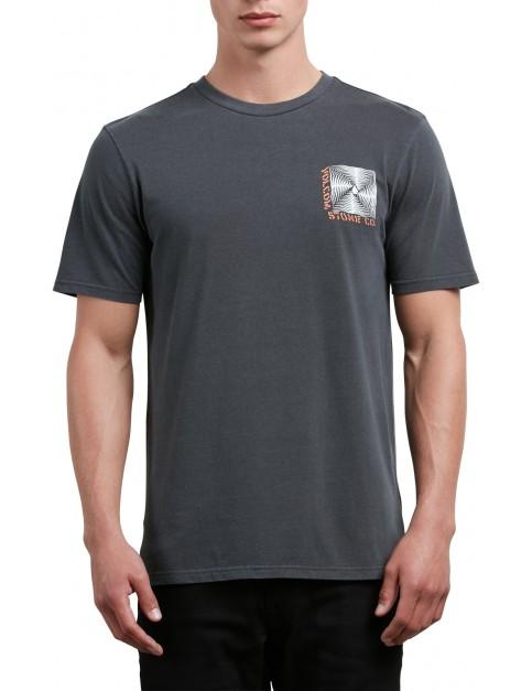 Volcom Stone Radiator Short Sleeve T-Shirt in Black
