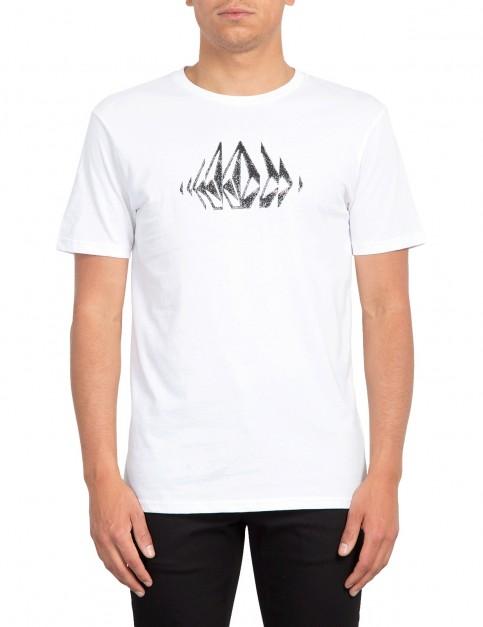 Volcom Stone Sounds Short Sleeve T-Shirt in White