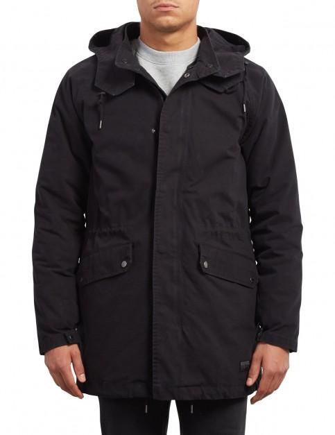 Volcom Stoner Parka Jacket in Black