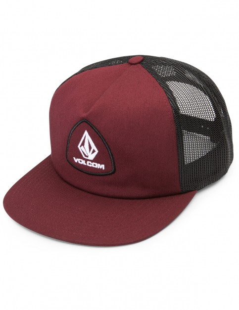 Volcom Straight Forward Cheese Cap in Vine Red