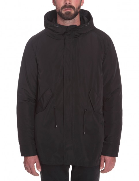 Volcom Strator Vlcmnty Parka Jacket in Black