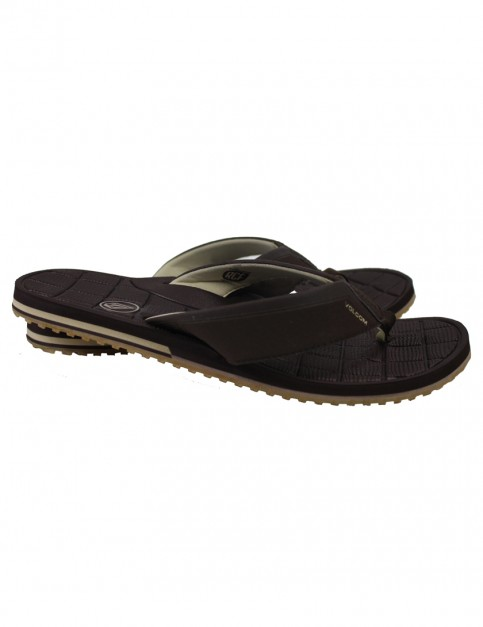 Brown Volcom Stryker Sport Sandals