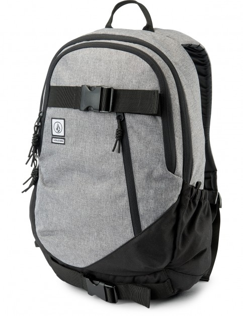 Volcom Substrate Backpack in Black Grey