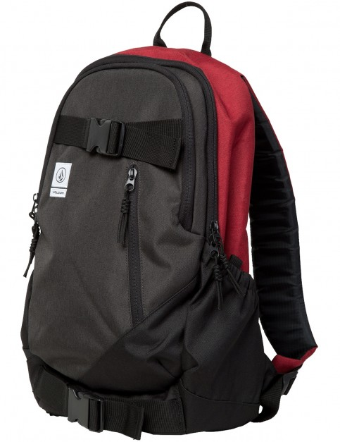 Volcom Substrate Backpack in Burgundy