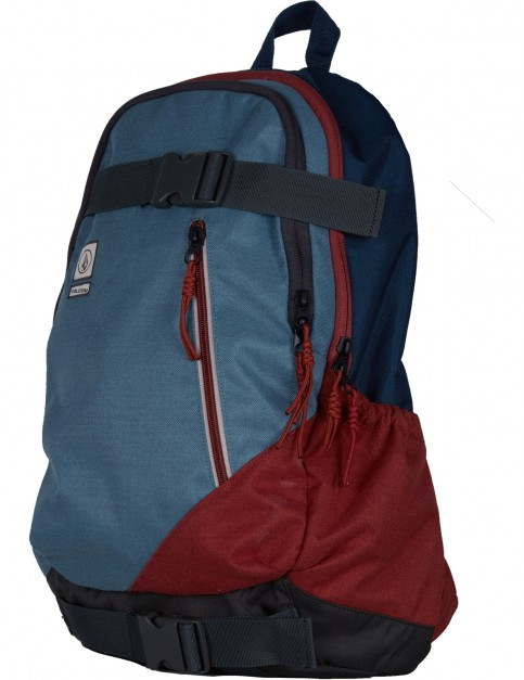 Volcom Substrate Skate Backpack in Ash Blue