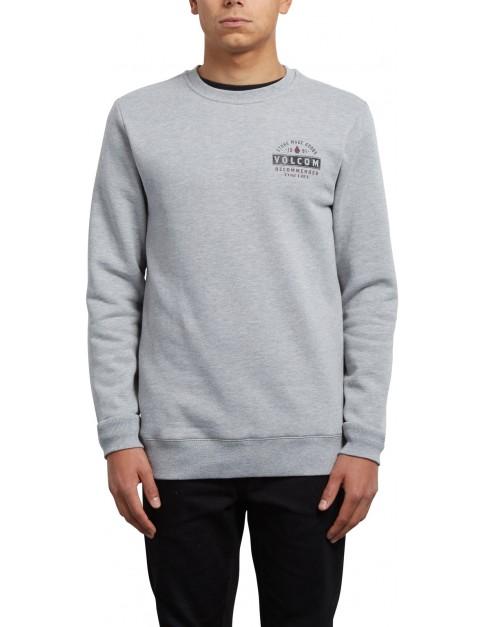 Volcom Supply Stone Crew Sweatshirt in Grey