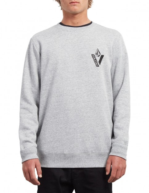 Volcom Supply Stone Crew Sweatshirt in Storm