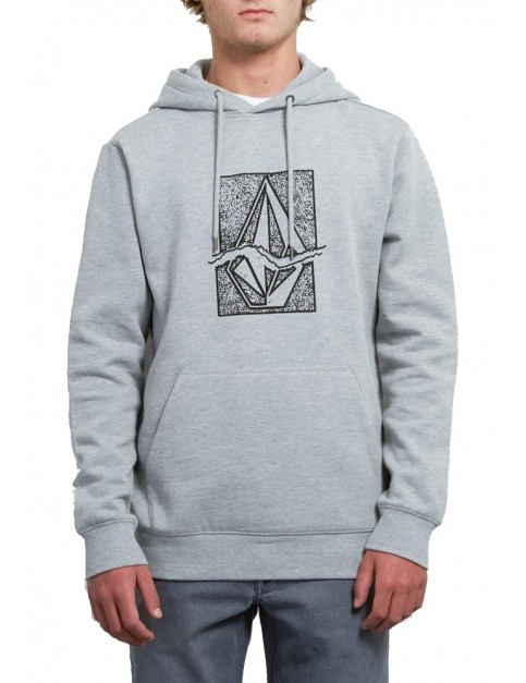 Volcom Supply Stone Pullover Hoody in Heather Grey